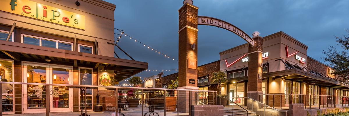 VergesRome Architects Mid City Market Entry