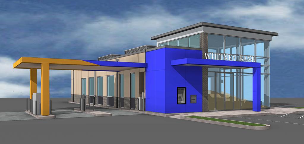 Whitney Bank Lakeside Mall - VergesRome Architects