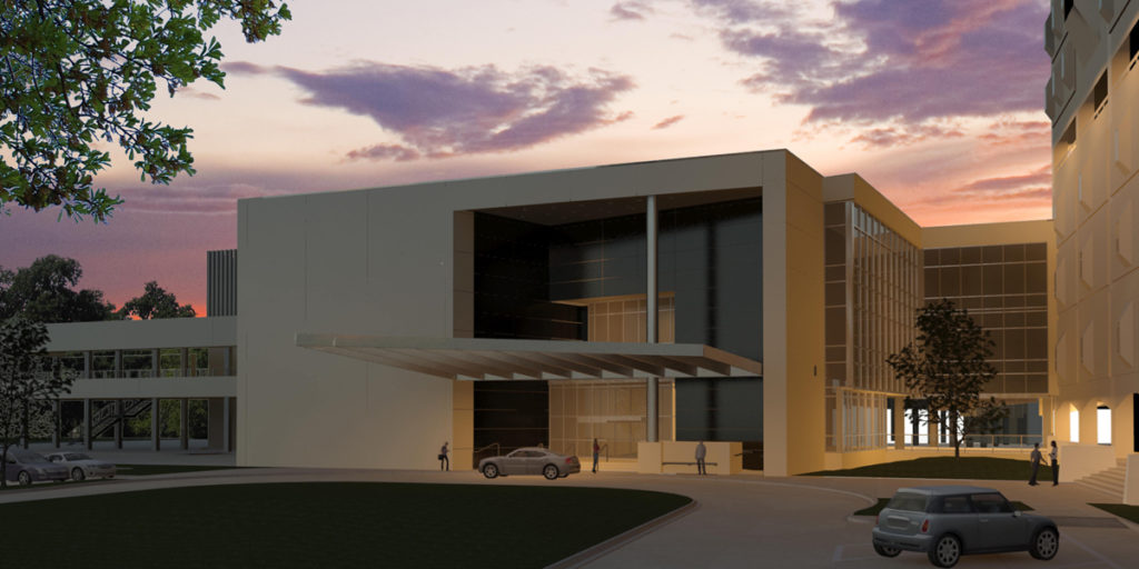 LSU Dental School Annex Building, VergesRome/Mathes Brierre, A Joint Venture