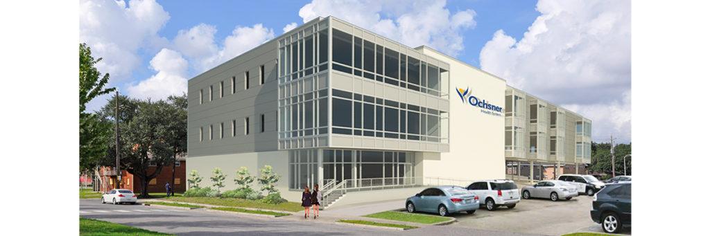 VergesRome Architects; Ochsner Lake Terrace Medical Office Building