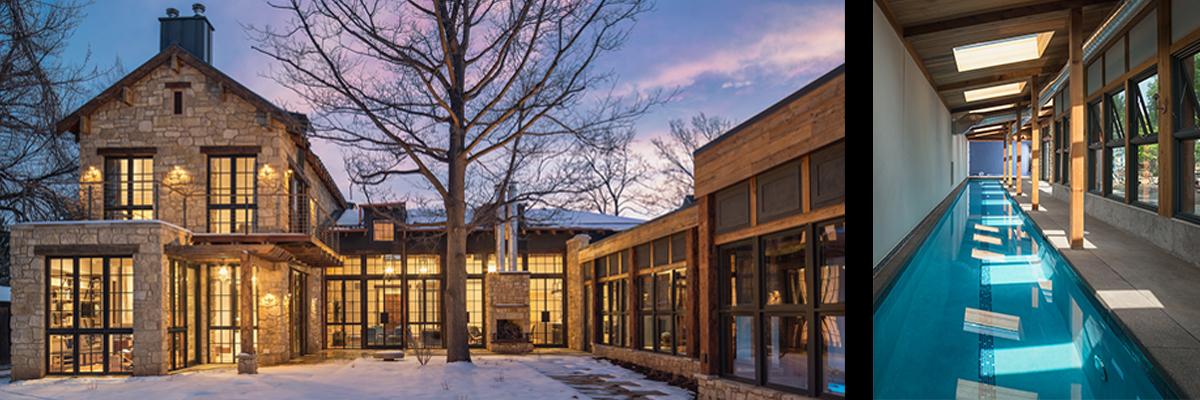 New Residence in Boulder, Colorado designed by VergesRome Architects